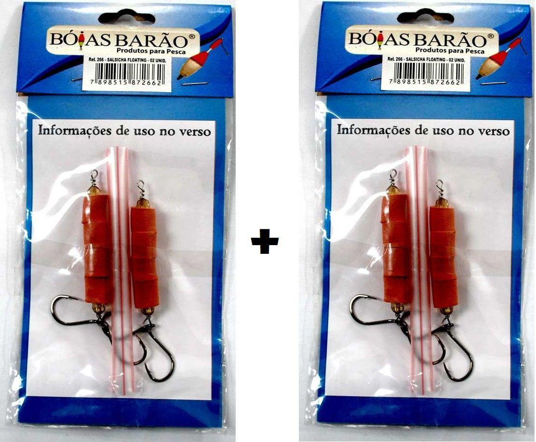 Kit 2 Cartelas Encastoado Salsicha Floating BARÃO - 2 Unidades