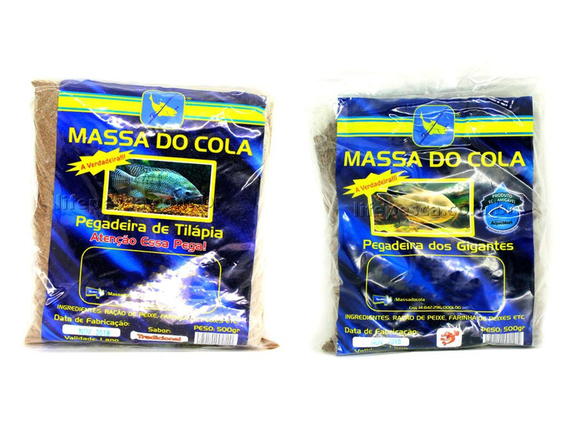 Kit 2 Massas Para Pesca Do Cola Camarão 500g + Tilápia 500g