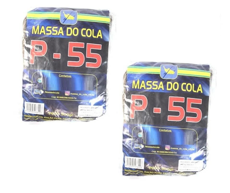 Kit 2 Massas Para Pesca Do Cola - P-55 (2x500g)