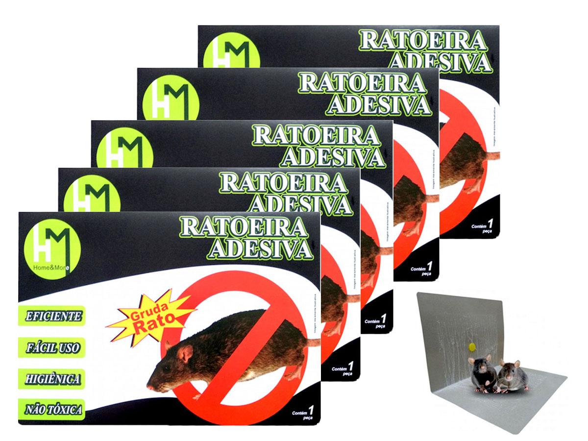 Kit 5 Ratoeira De Cola Vermelha HM (34x25cm) - HM55