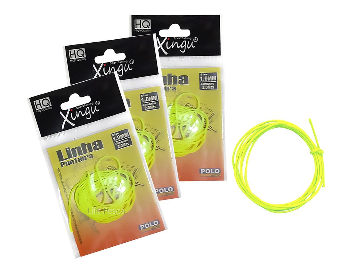 Kit C/ 3 Linhas Para Ponteira Xingu 1.0mm - 2 Metros