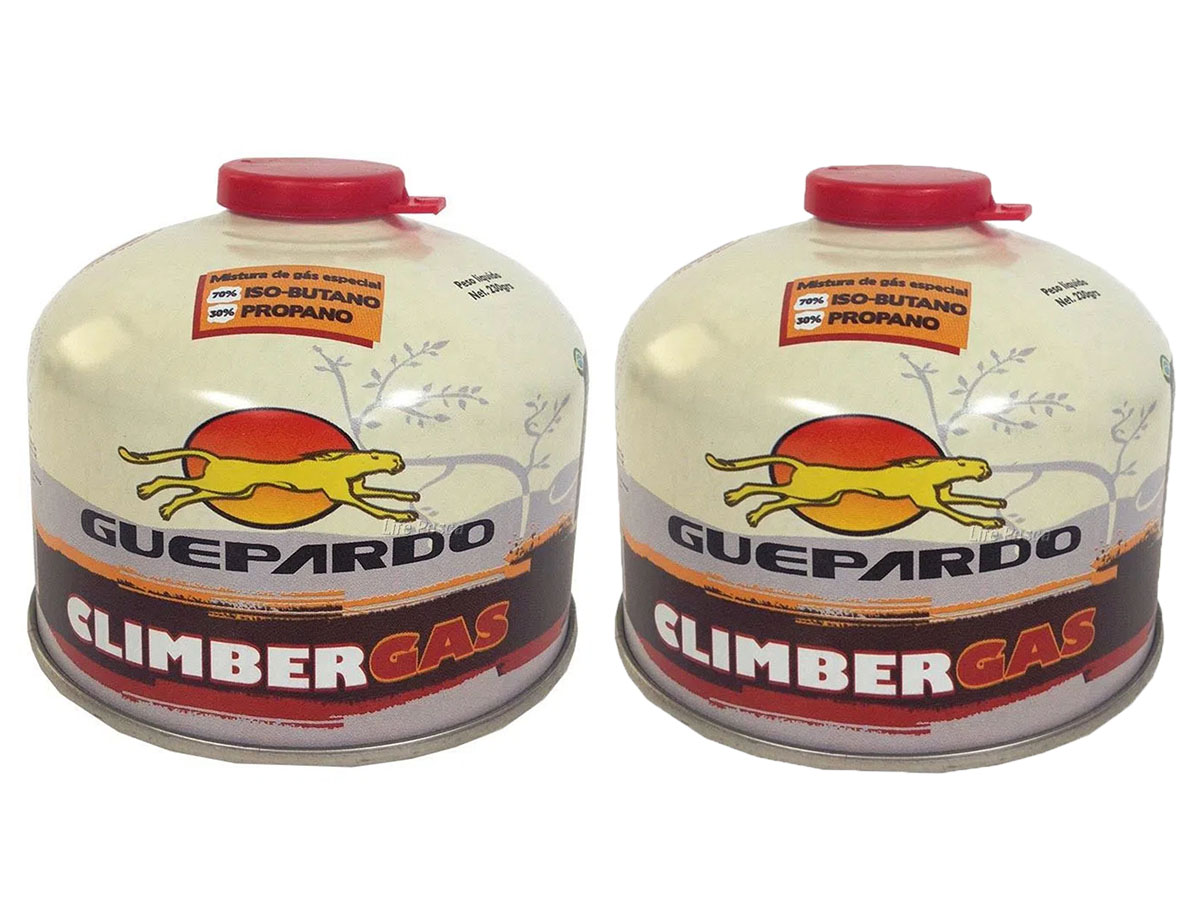 Kit com 2 Cartuchos de Climber Gás - Guepardo