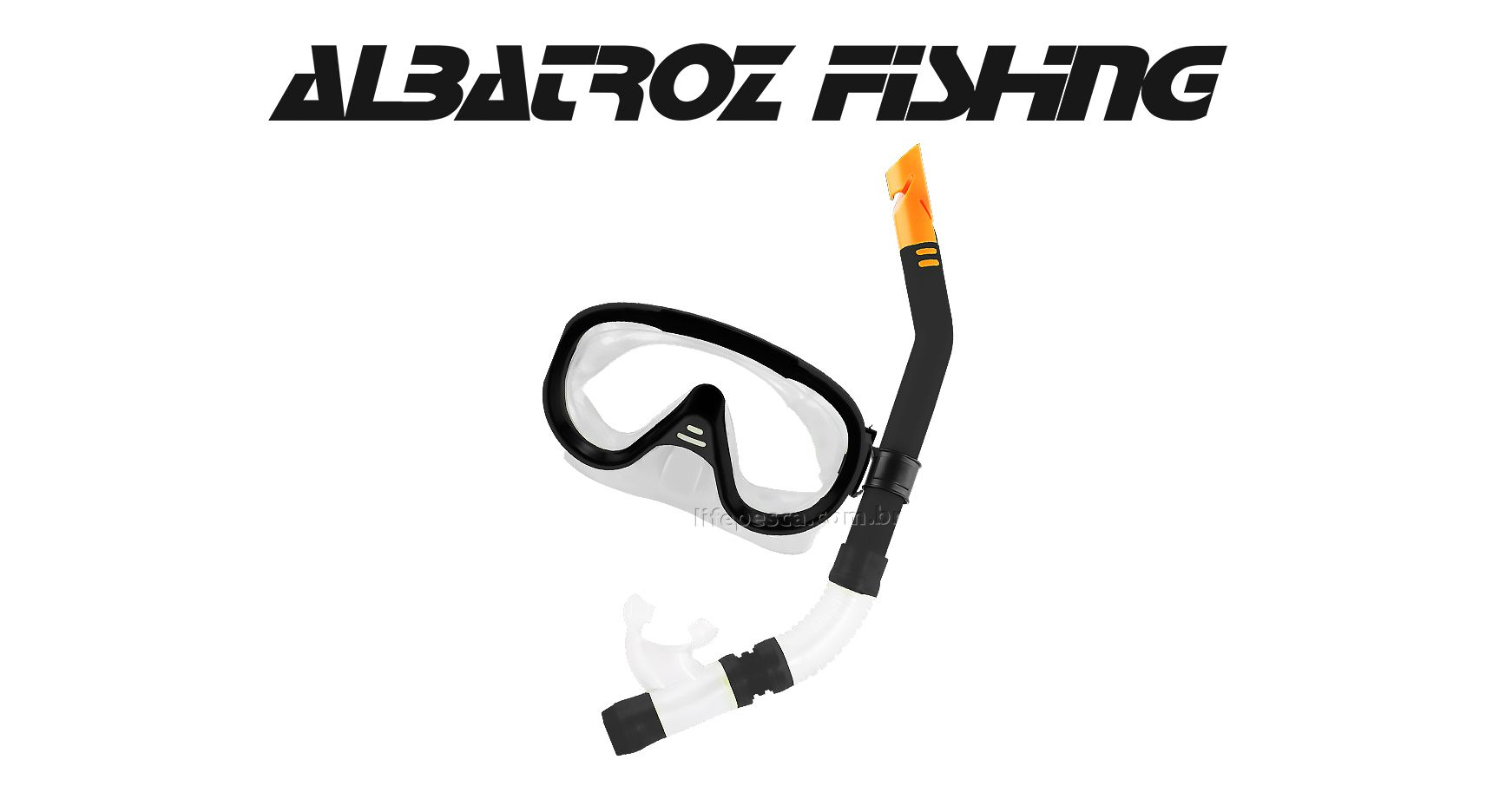 Kit Mergulho Snorkel Play - Albatroz Fishing - Várias Cores