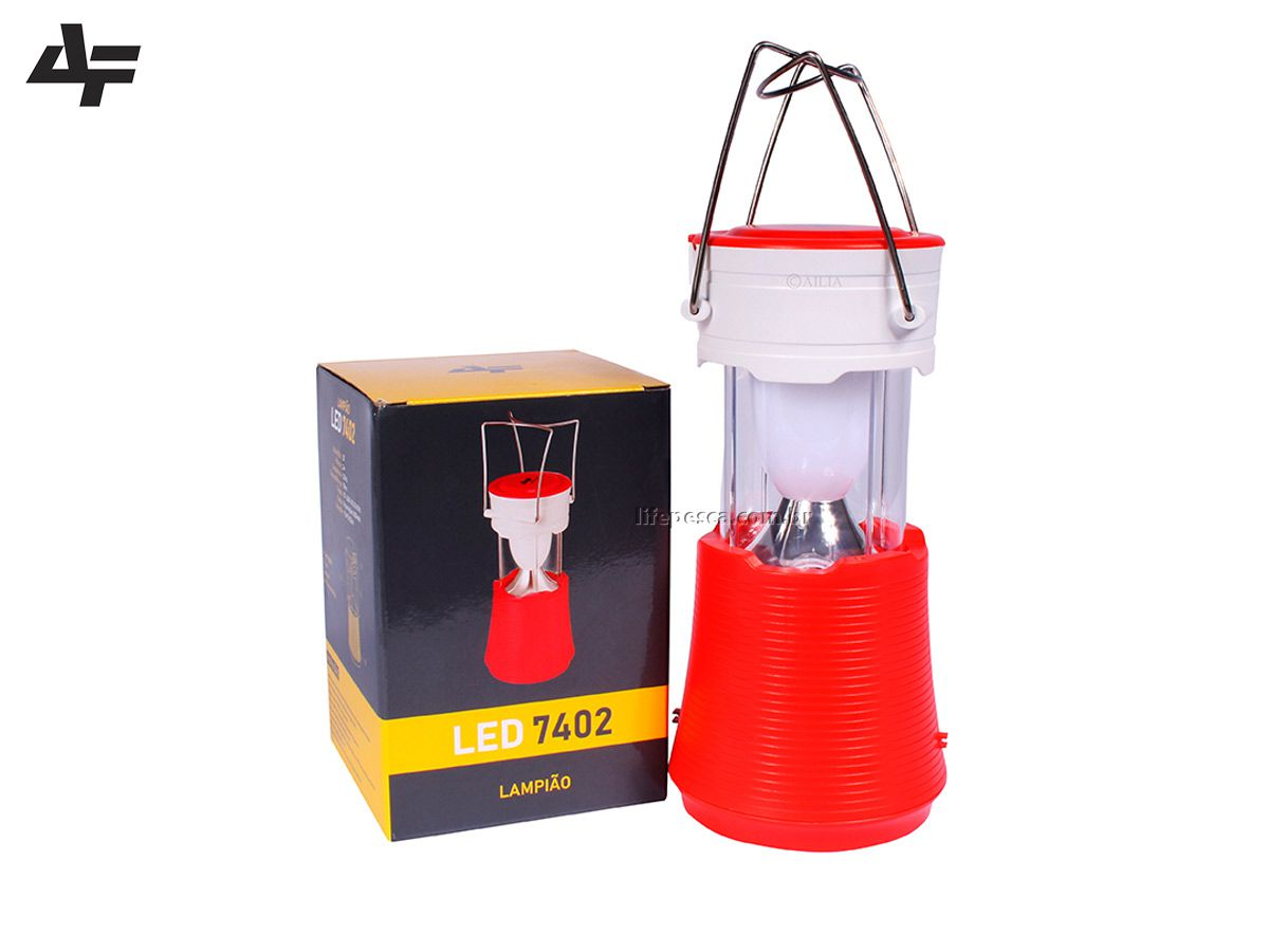 Lampião 20 Leds Recarregável - Albatroz Fishing - LED-7402