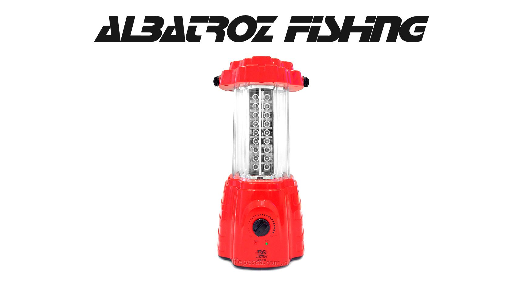 Lampião 72 Leds Recarregável - Albatroz Fishing - LED-767