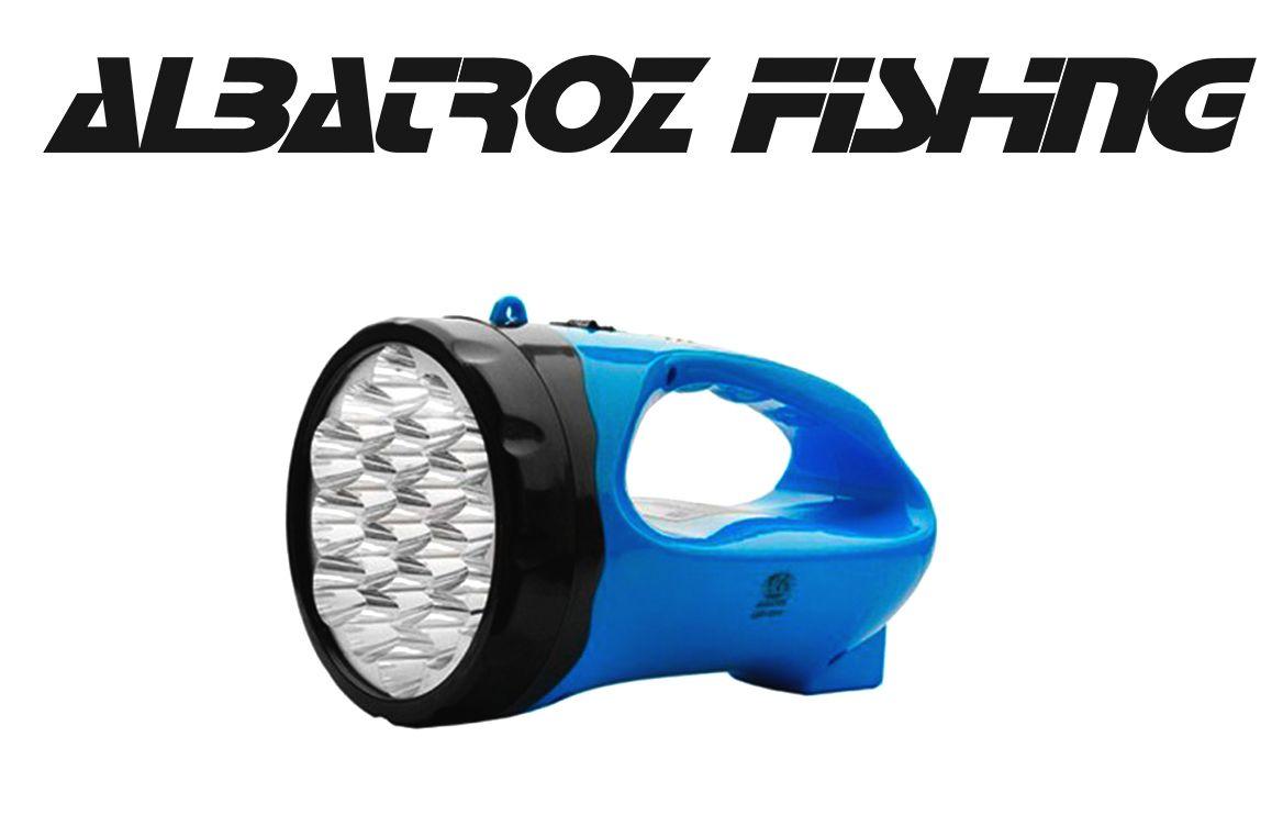 Lanterna 19 Leds Longo Alcance 500m - Albatroz Fishing - LED-1914A