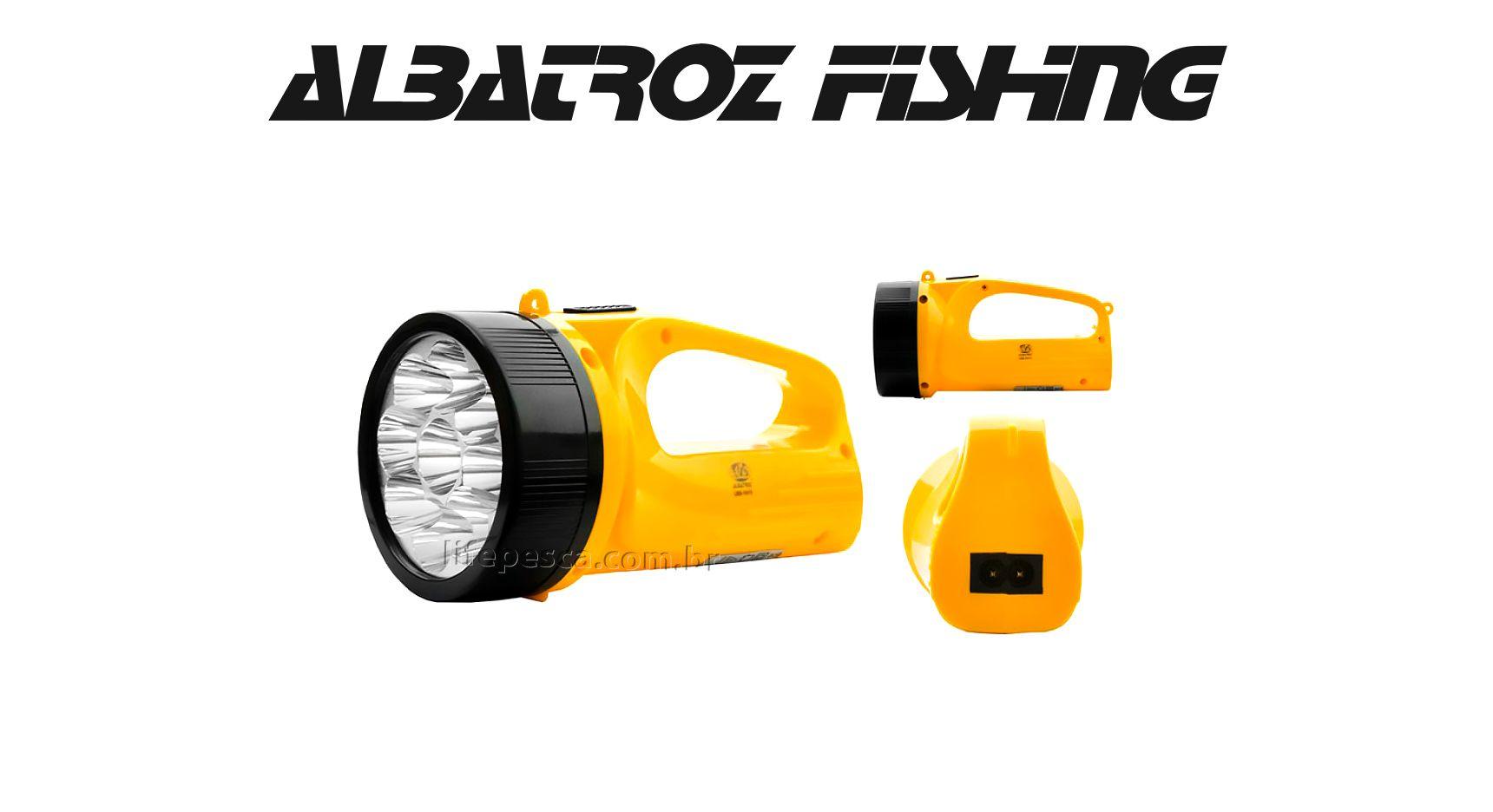 Lanterna 9 Leds Longo Alcance 500m - Albatroz Fishing - LED-1915