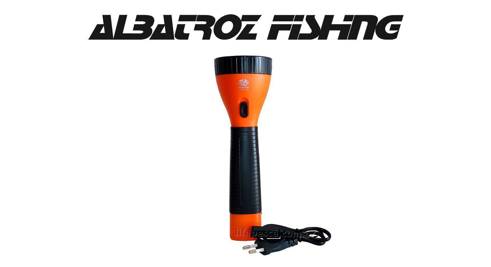 Lanterna 9 Leds Recarregável Alcance 200 Metros - Albatroz Fishing - LED-1931