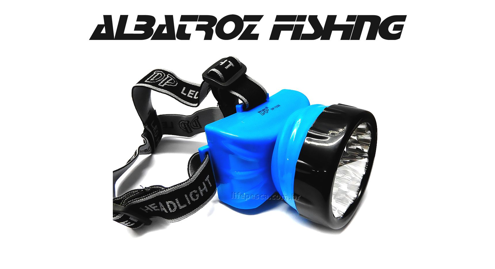 Lanterna Led Para Cabeça Recarregável - Albatroz Fishing - LED-722B