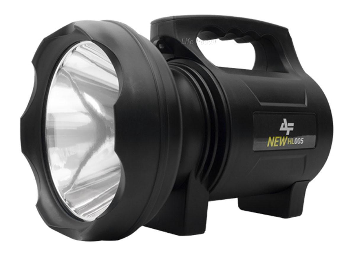 Lanterna Holofote Led 50w Albatroz HL005 New - Alcance 500m