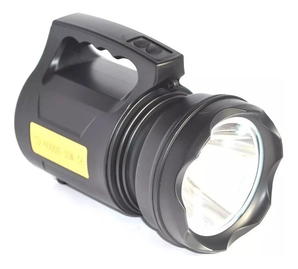 Lanterna Holofote T6 Led Recarregável Bb6000A-30w