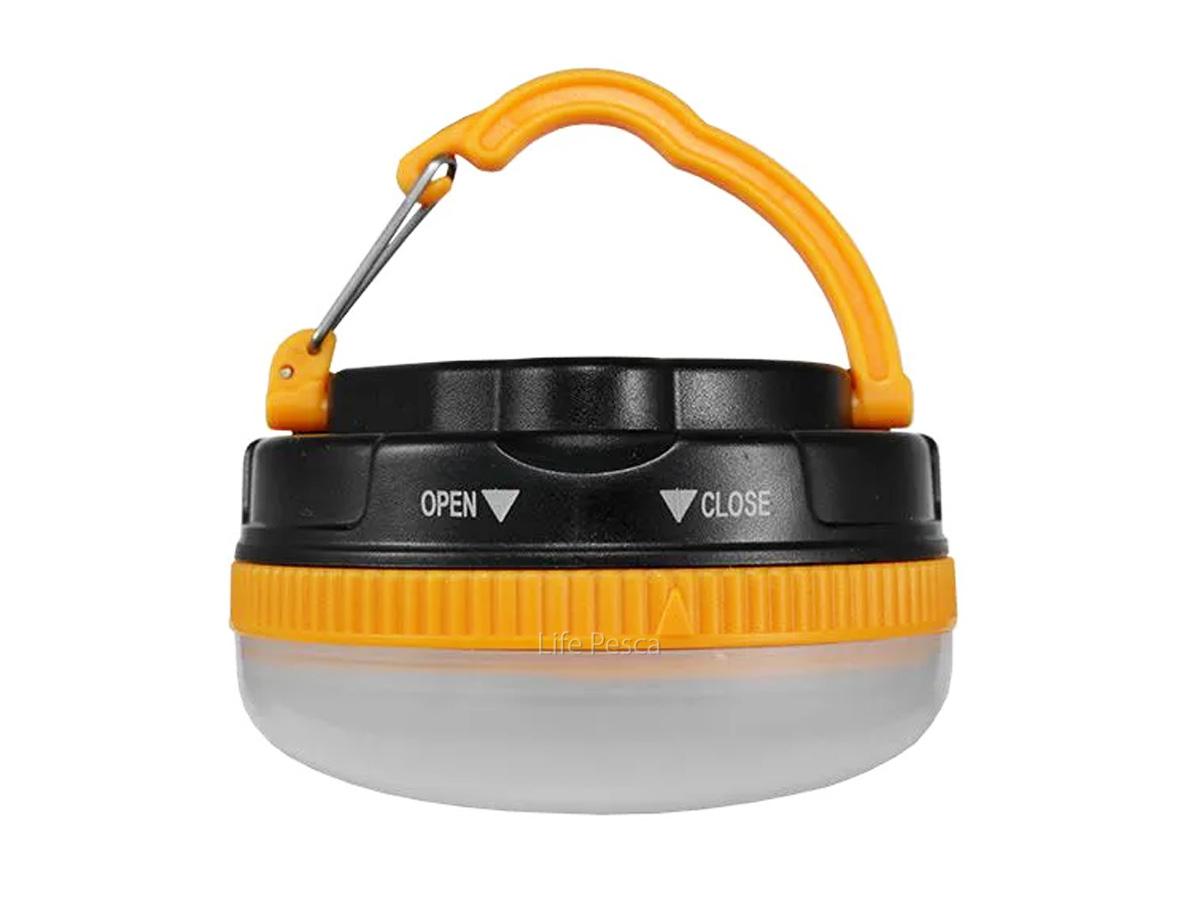 Lanterna Led Camping Albatroz - LED-C05 (Laranja)