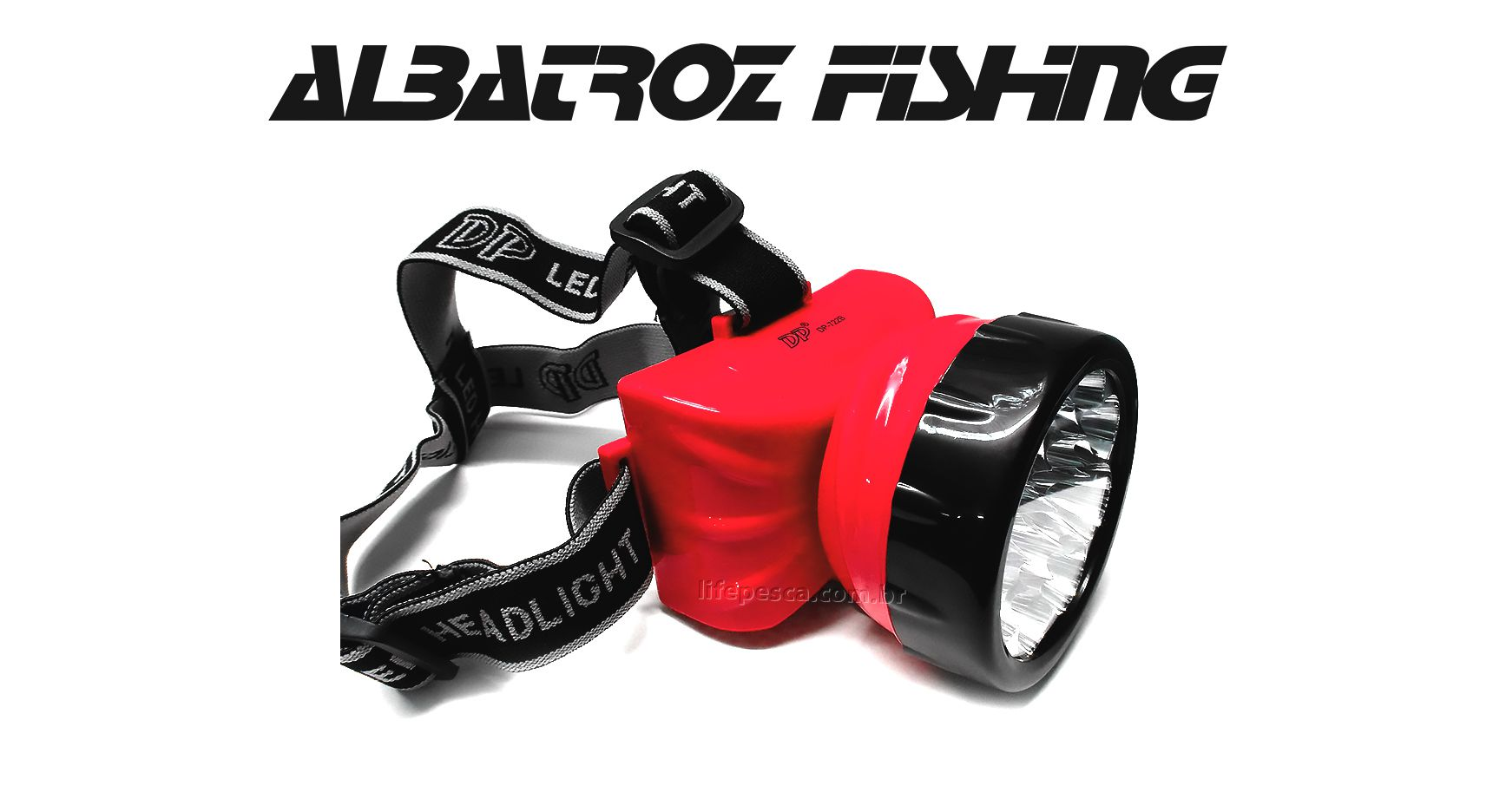 Lanterna Led Para Cabeça Recarregável - Albatroz Fishing - LED-722A