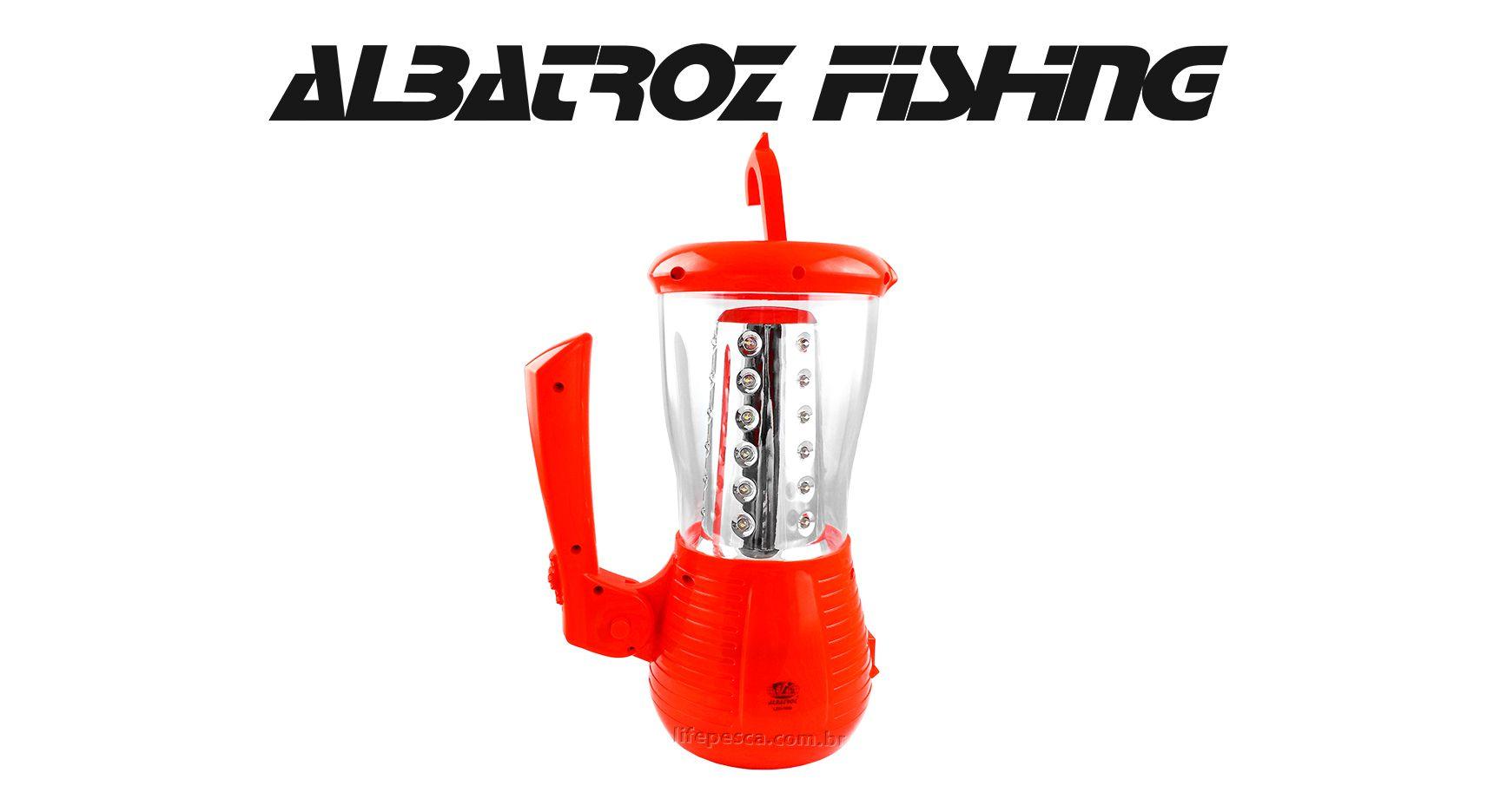 Lanterna Multi-Funcional Recarregável - Albatroz Fishing - LED-7050