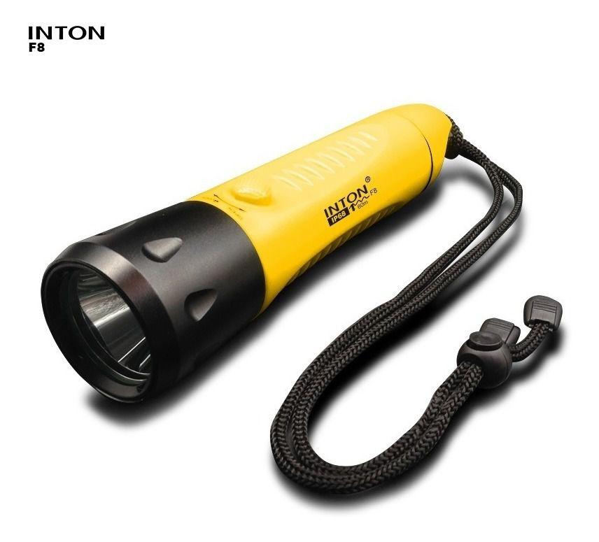 Lanterna para Mergulho F8 Inton - IP68