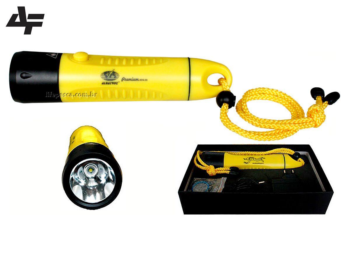 Lanterna para Mergulho SDQ-33 - Albatroz  Fishing