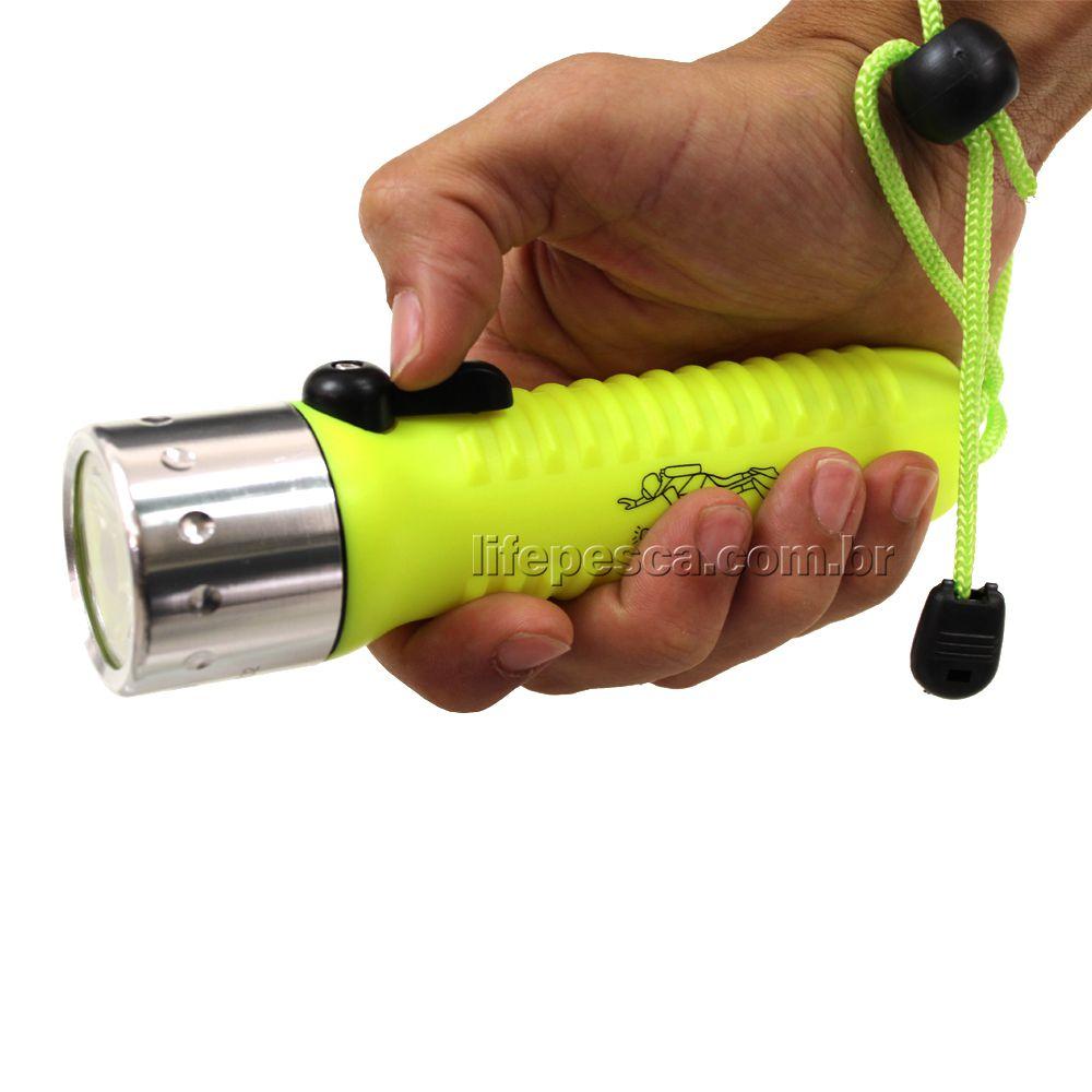 Lanterna Para Mergulho Shallow Light Q2 Cmik - Várias Cores