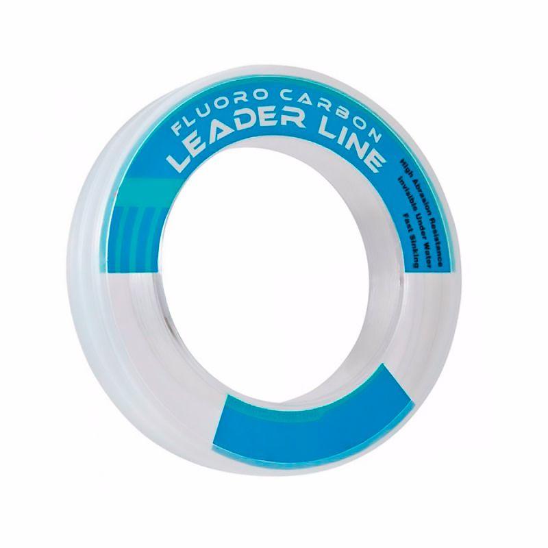 Linha Artemis Fluorocarbon Leader 0.40mm 25lbs/12,17kg - 50 Metros