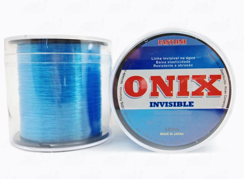 Linha Fastline Onix Invisible - 500 Metros - Várias Bitolas  - Life Pesca - Sua loja de Pesca, Camping e Lazer
