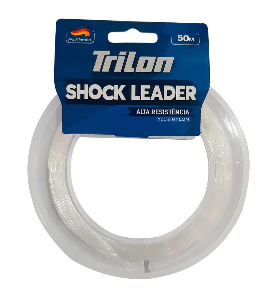 Linha Mazzaferro Shock Leader Trilon 0,35mm 18,5lb/8,4kg - 50 Metros