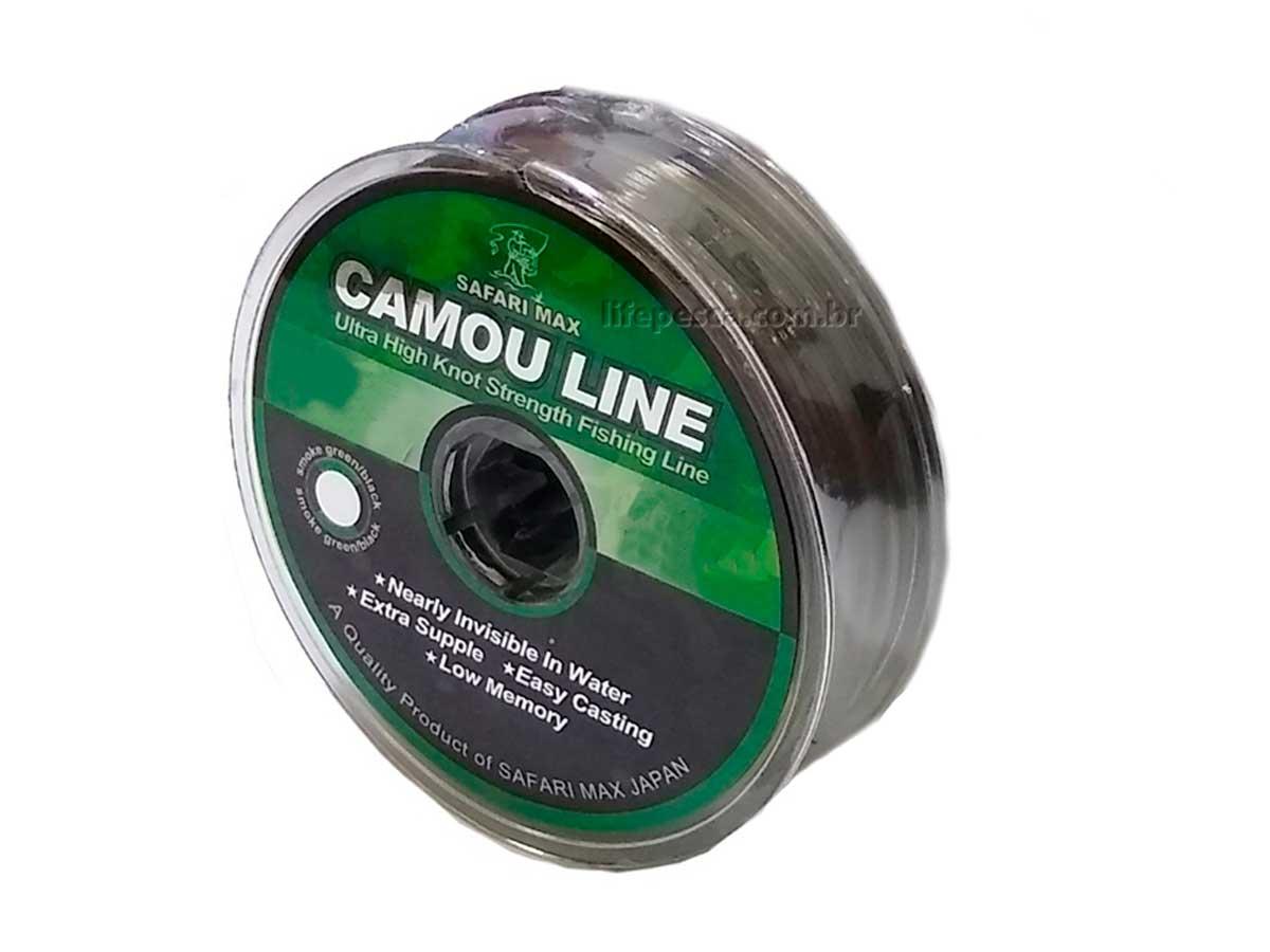 Linha Monofilamento Camou Line 0,20mm 12,1lbs/5,5kg - 100 Metros