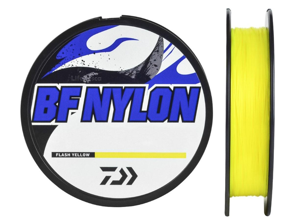 Linha Monofilamento Daiwa BF Flash Yellow 0,37mm 20lbs/9,1kg - 300 Metros