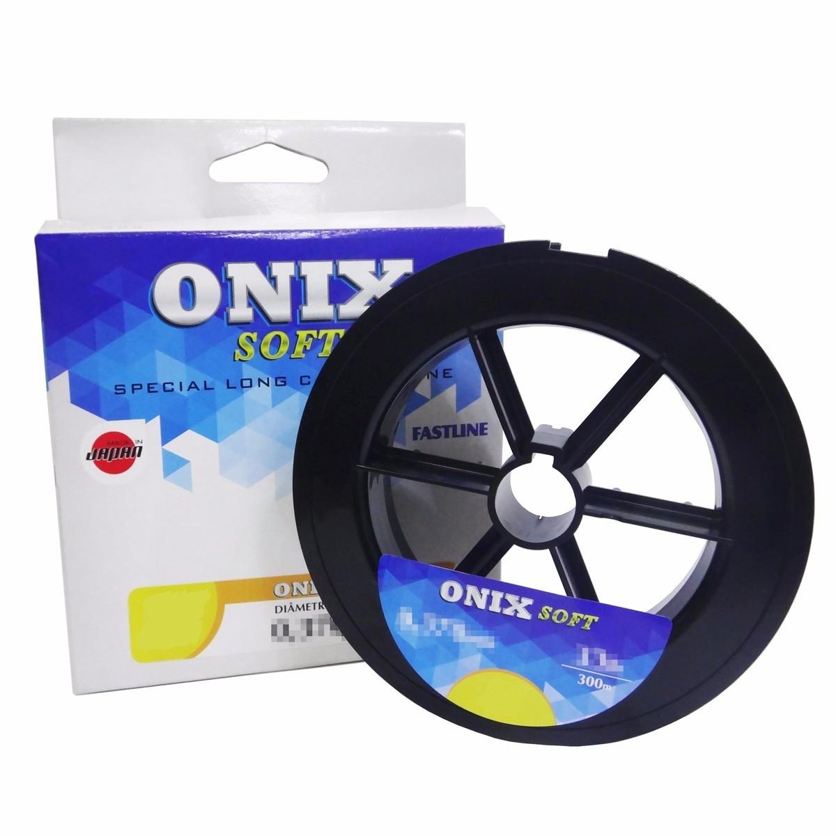 Linha Monofilamento Fastline Onix Soft (0,40mm 39lbs) - 300 Metros  - Life Pesca - Sua loja de Pesca, Camping e Lazer