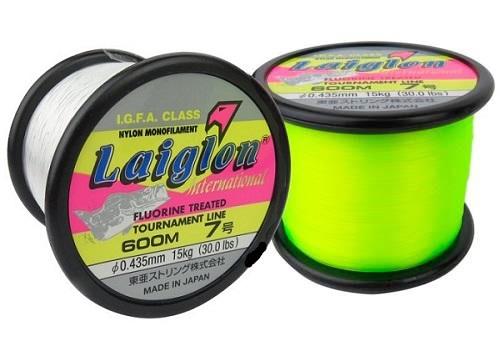 Linha Monofilamento Laiglon 0,33mm 16lbs/8,0kg - 600 Metros  - Life Pesca - Sua loja de Pesca, Camping e Lazer