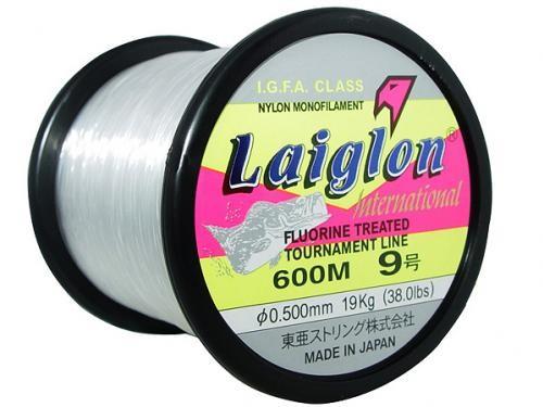 Linha Monofilamento Laiglon 0,50mm 38lbs/19,0kg - 600 Metros  - Life Pesca - Sua loja de Pesca, Camping e Lazer