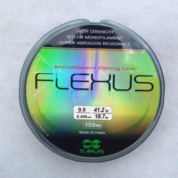 Linha Monofilamento Maruri Flexus 150 Metros - Várias Espessuras  - Life Pesca - Sua loja de Pesca, Camping e Lazer