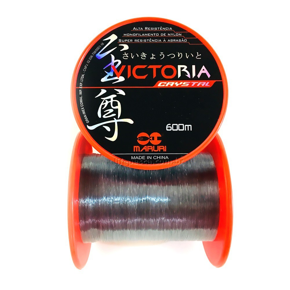 Linha Monofilamento Maruri Victoria 0,28mm 10,4lbs/4,7kg - 600 Metros  - Life Pesca - Sua loja de Pesca, Camping e Lazer