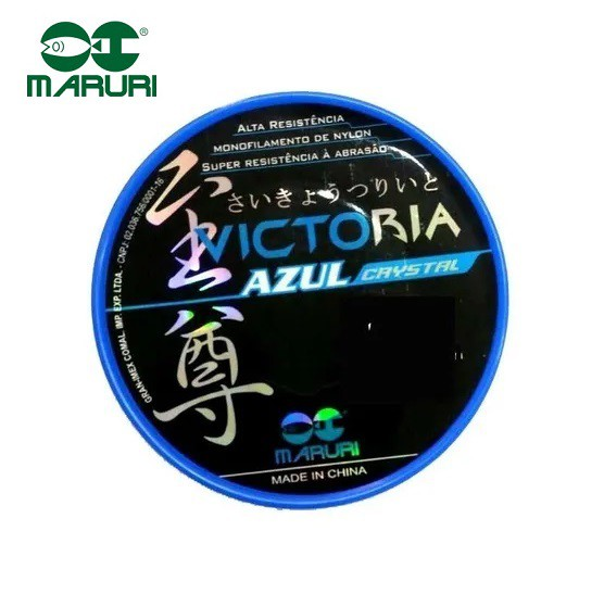 Linha Monofilamento Maruri Victoria 0,47mm 25,1lbs/11,5kg - 600 Metros  - Life Pesca - Sua loja de Pesca, Camping e Lazer
