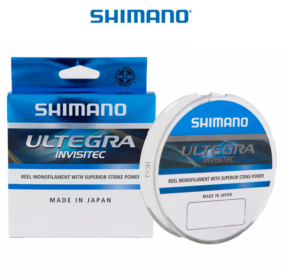 Linha Monofilamento Shimano Ultegra Invisitec 0,16mm 6,30b/2,90kg - 300 Metros