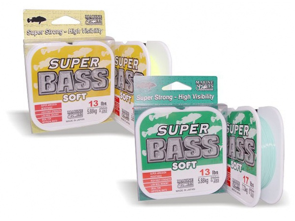 Linha Monofilamento Super Bass 0,47mm 32lb/14,50kg - 250 Metros - Marine Sports  - Life Pesca - Sua loja de Pesca, Camping e Lazer