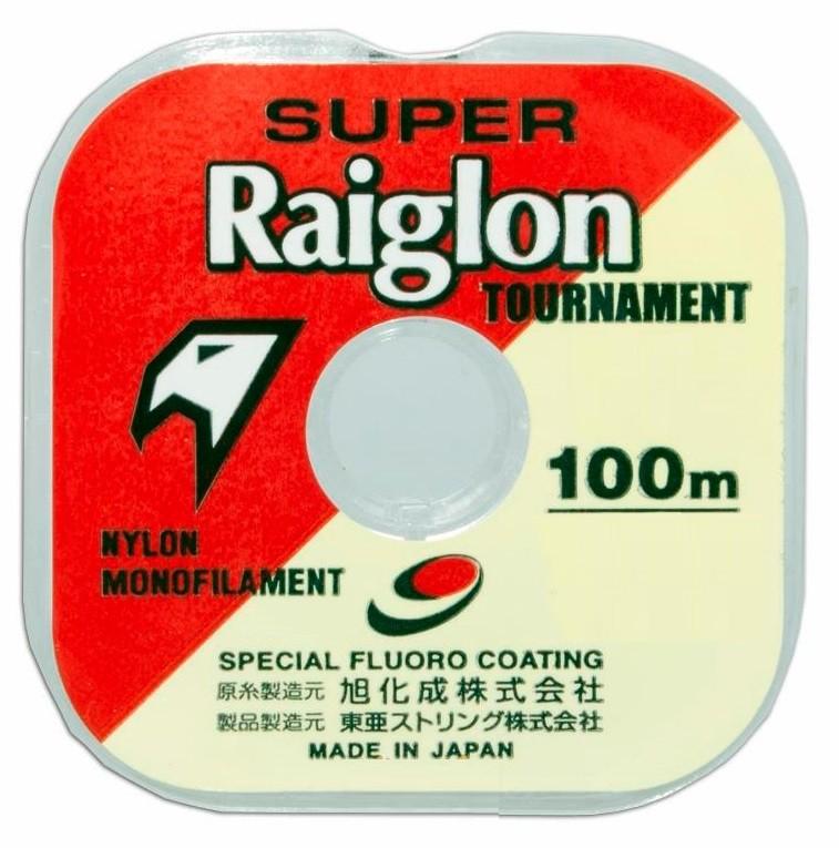 Linha Monofilamento Super Raiglon 0,435mm 42lbs/18,8kg - 100 Metros  - Life Pesca - Sua loja de Pesca, Camping e Lazer
