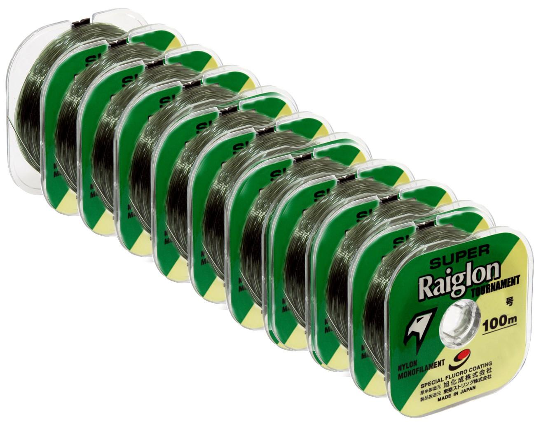 Linha Monofilamento Super Raiglon 0,500mm 52lbs/23,8kg - 100 Metros  - Life Pesca - Sua loja de Pesca, Camping e Lazer