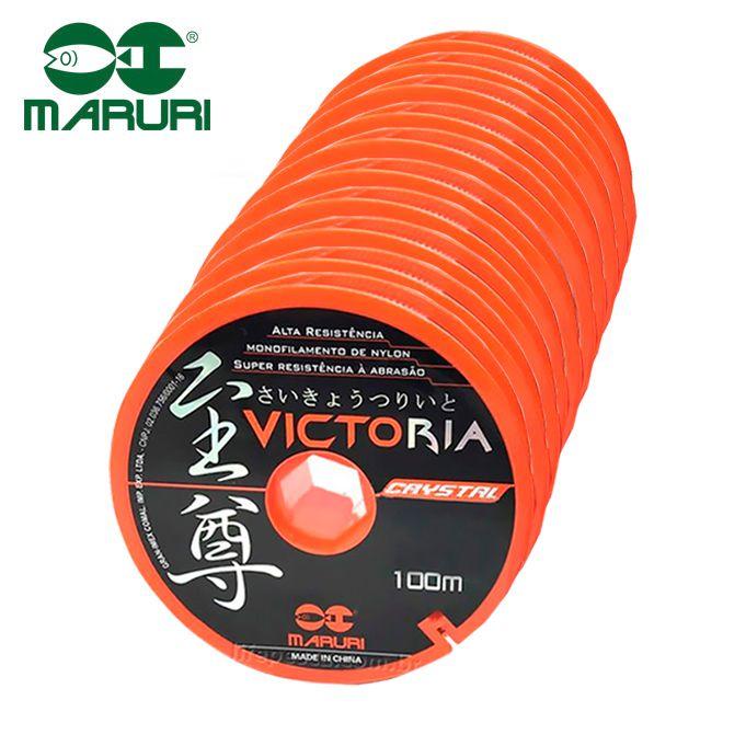 Linha Monofilamento Victoria Crystal Maruri 0,26mm 8,8lb/4kg - 100 Metros  - Life Pesca - Sua loja de Pesca, Camping e Lazer