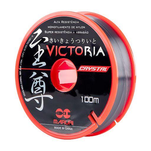 Linha Monofilamento Victoria Crystal Maruri 0,61mm 40,8lbs/18,5kg - 100 Metros  - Life Pesca - Sua loja de Pesca, Camping e Lazer