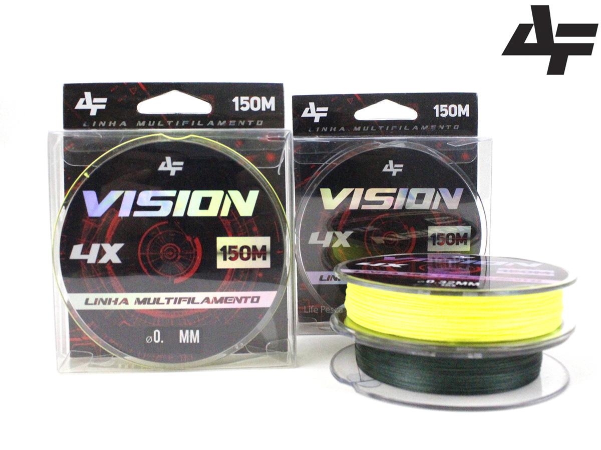 Linha Multifilamento Albatroz Vision 4X 150 Metros - Várias Espessuras e Cores