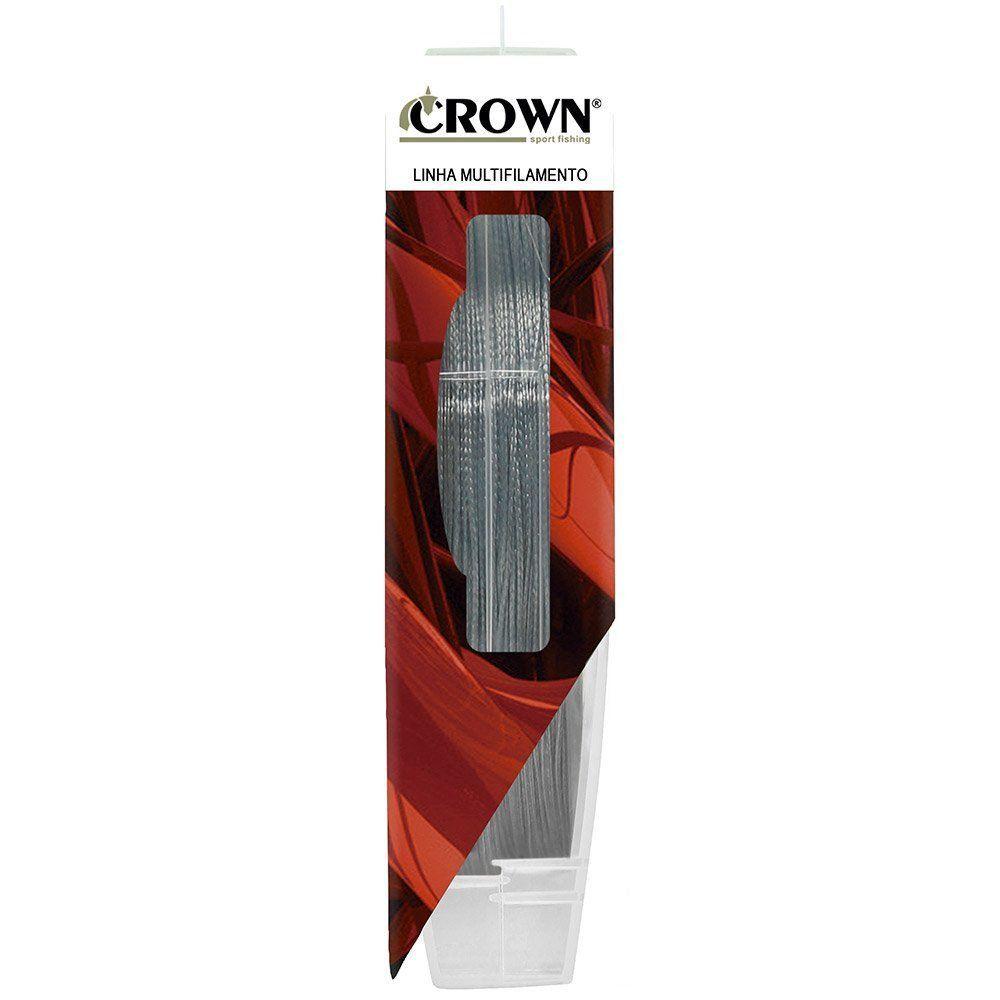 Linha Multifilamento Crown Fiber Flex 8x - 100 Metros   - Life Pesca - Sua loja de Pesca, Camping e Lazer