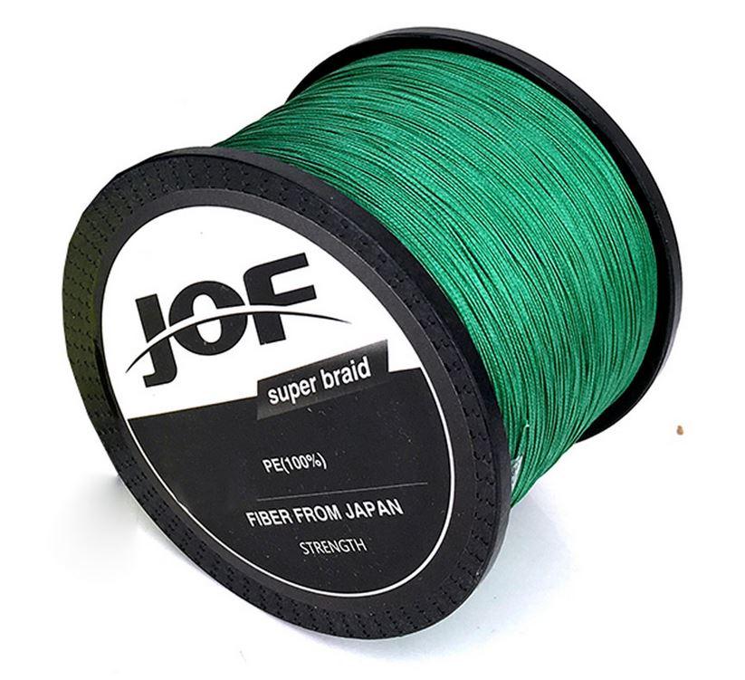 Linha Multifilamento Jof 8 Fios 0,90mm 200lb 91kg - 1000 Metros  - Life Pesca - Sua loja de Pesca, Camping e Lazer
