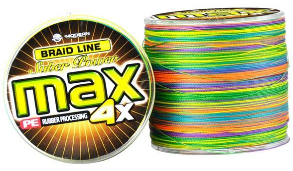 Linha Multifilamento Max 500 Metros - Colorida Cor Muda De 1m Em 1m  - Life Pesca - Sua loja de Pesca, Camping e Lazer