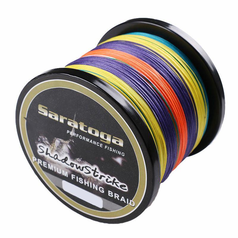 Linha Multifilamento Saratoga Premium 8 Fios Colorida - 300 Metros  - Life Pesca - Sua loja de Pesca, Camping e Lazer