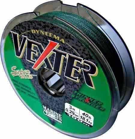 Linha Multifilamento Vexter 0,29mm 40lb/18,1kg - 100 Metros