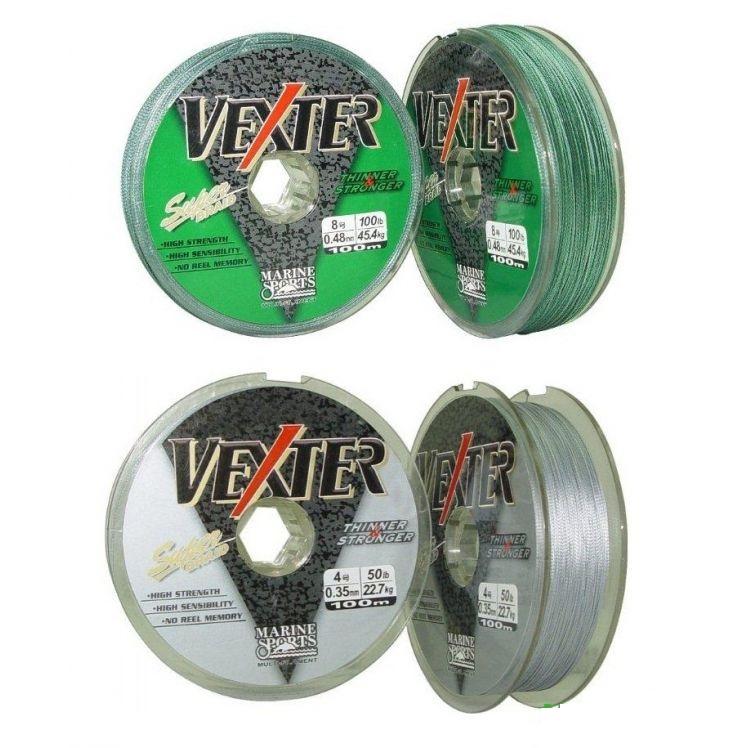 Linha Multifilamento Vexter 0,29mm 40lb/18,1kg - 100 Metros  - Life Pesca - Sua loja de Pesca, Camping e Lazer
