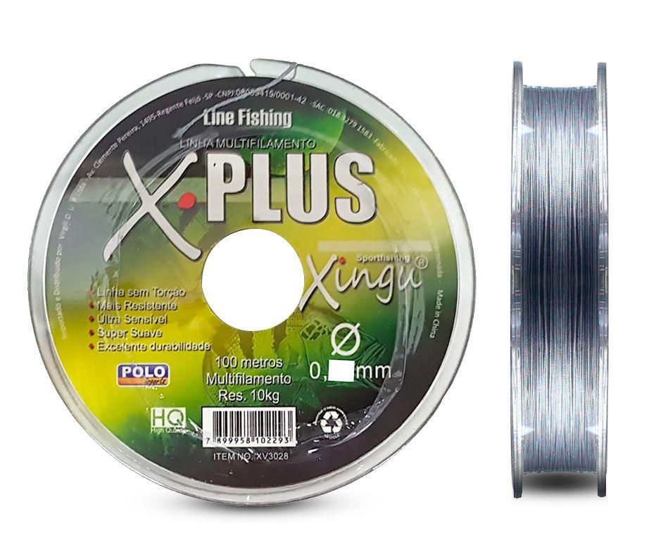 Linha Multifilamento Xingu 0,35mm 55lb / 25kg - 100 Metros