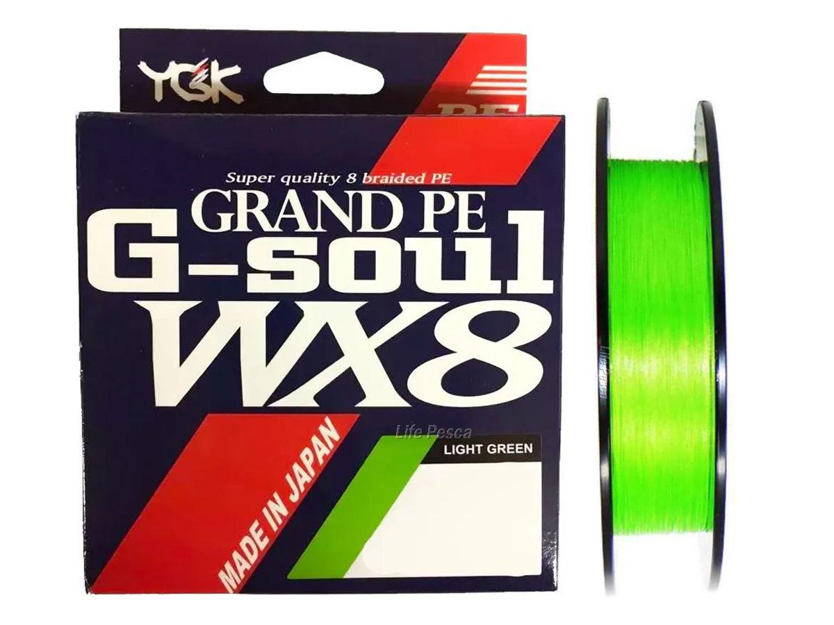 Linha Multifilamento YGK G-Soul Grand Pe WX8 - 150 Metros