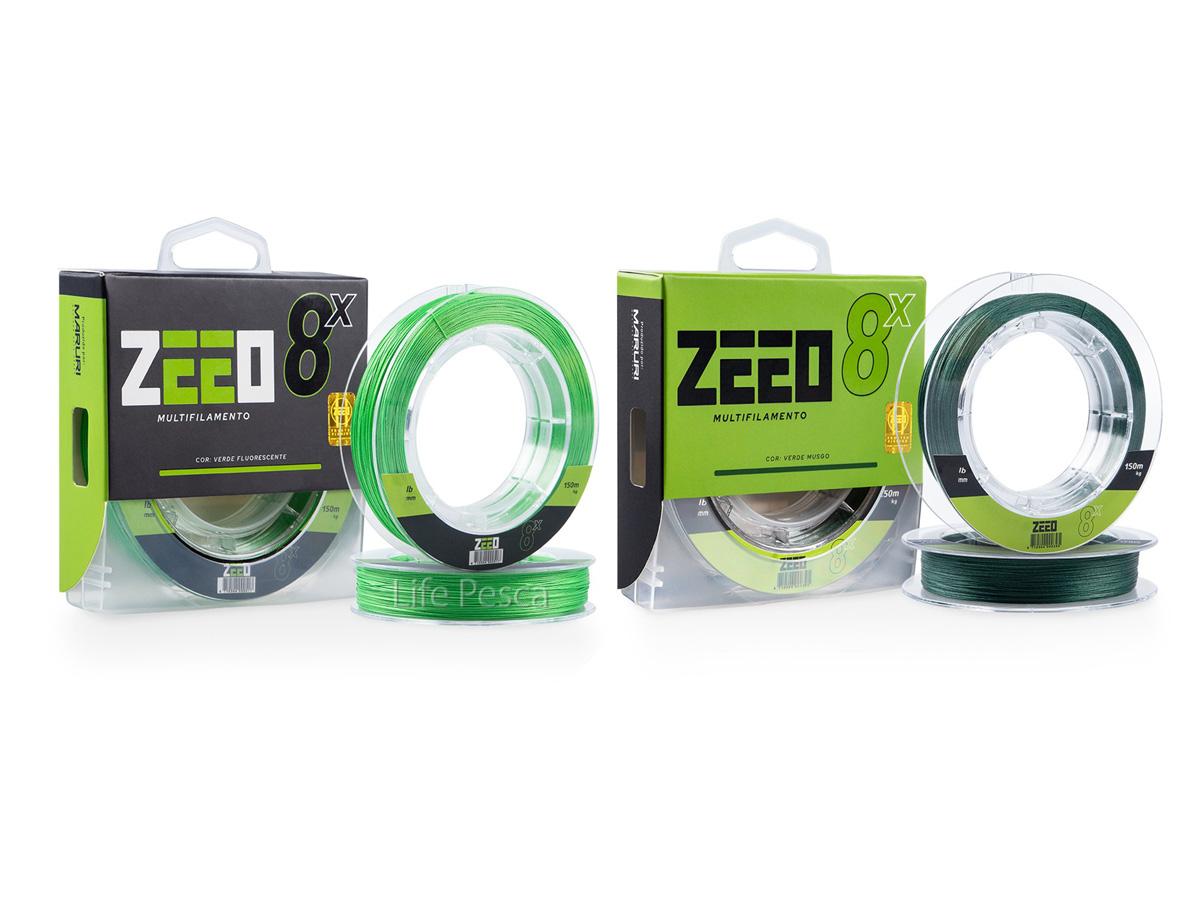 Linha Multifilamento ZEEO 8X 0,40mm 58,1lb/26,40Kg - 150 Metros
