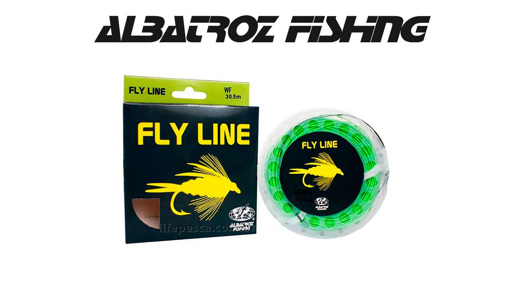 Linha para Fly Line WF6F Green (30,5m) - Albatroz Fishing