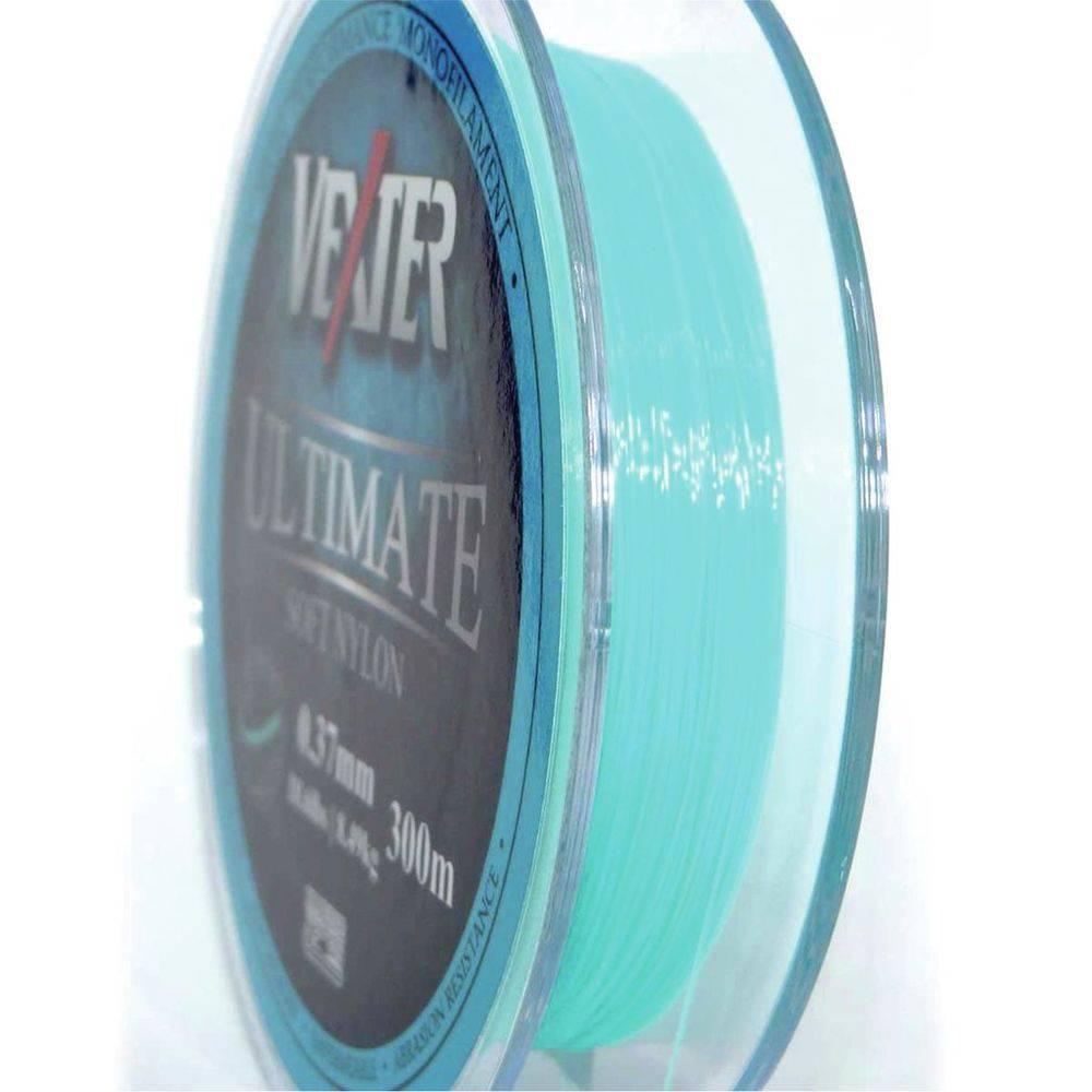 Linha Vexter Ultimate Soft Nylon Monofilamento 0,37mm 18Lbs/8,5kg - 300 Metros  - Life Pesca - Sua loja de Pesca, Camping e Lazer